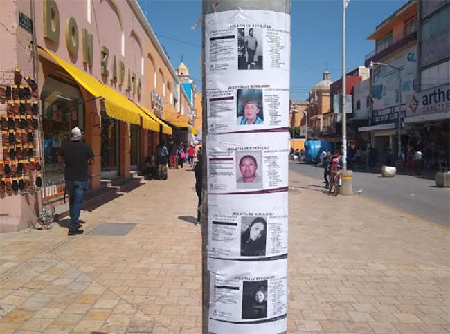 Solo una menor sin aparecer del reporte de 35 personas desaparecidas en Tehuacán
