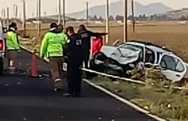 Fuerte accidente en la Teziutlán-Virreyes deja heridos y dos muertos