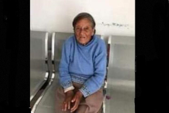 Desaparece abuelita en Chachapa; su familia la busca