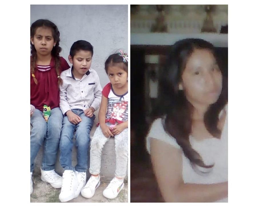 Desaparecen mujer con sus hijos en Quecholac