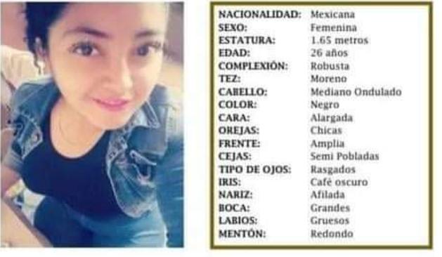 Paola desapareció en la colonia el Trébol en Acatzingo