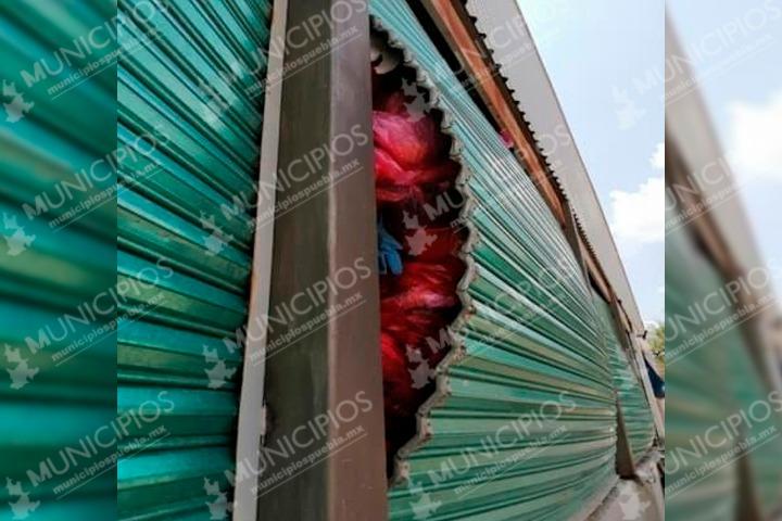 Profepa clausura almacén con desechos hospitalarios en Cuautinchán