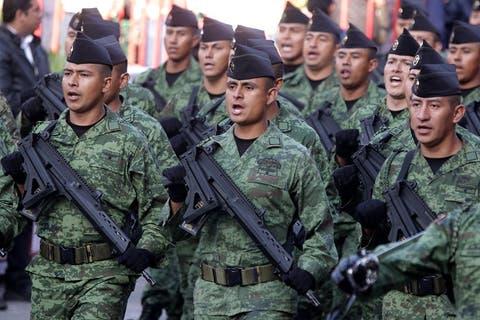 El poder de los militares en México