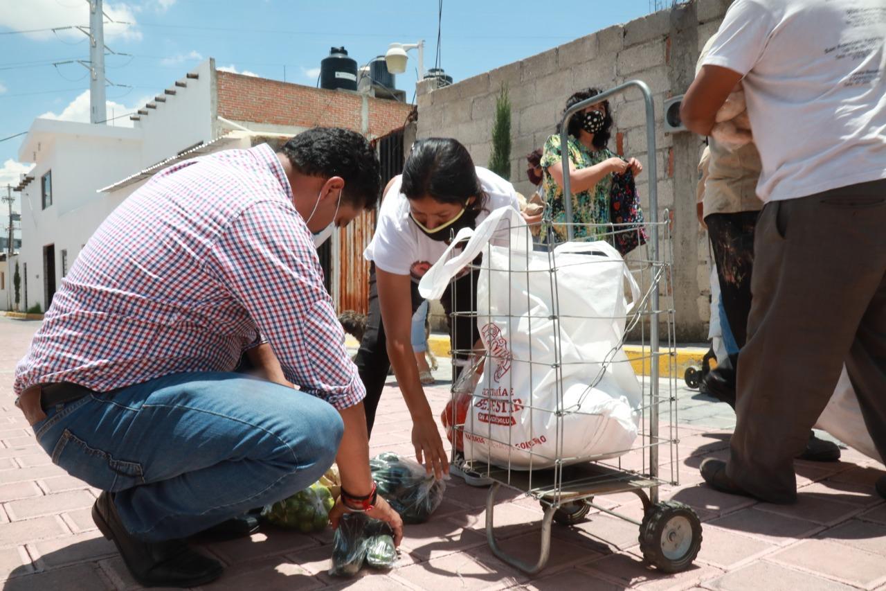 En San Andrés se han entregado 20 mil despensas: Edgar Hernández