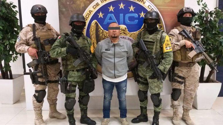 El Marro, líder huachicolero es trasladado al penal del Altiplano