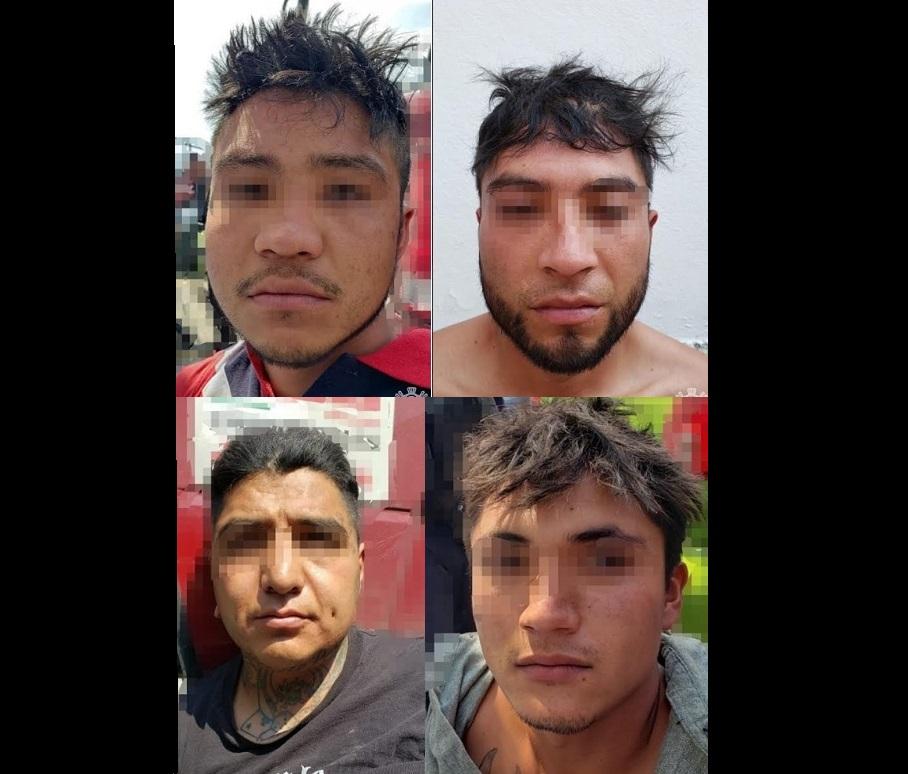 Caen presuntos escoltas de El Loco Téllez en Texmelucan
