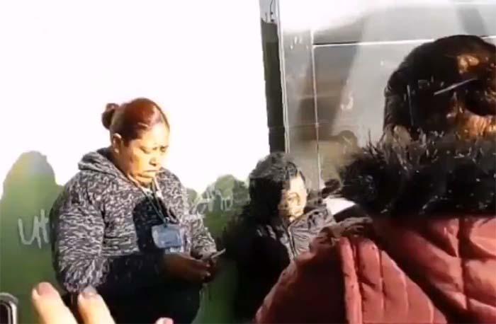 Pasajeras detienen a mujer que intentó robar en Ruta