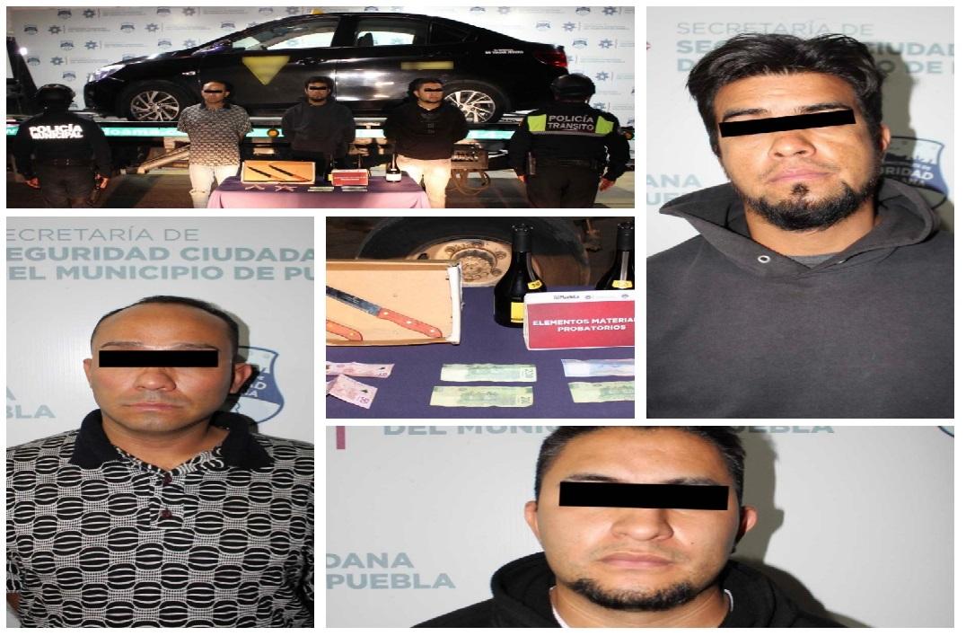 Detienen a tres que robaron Oxxo en La Libertad
