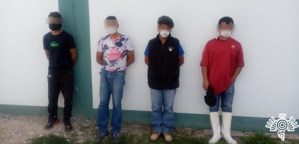 Seis detenidos tras acciones de seguridad en Tepeaca