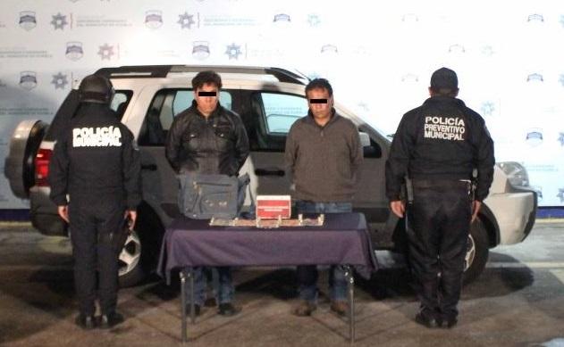 Los detienen en Puebla por robo a verdulería de Cuautlancingo