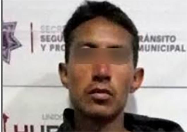 Cae narcomenudista en el cuarto barrio de Huejotzingo