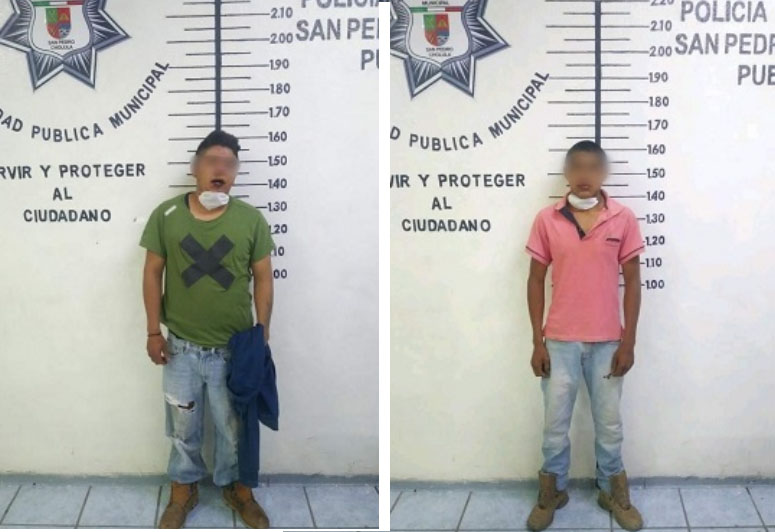 Los querían linchar en Cholula pero policía municipal lo evita