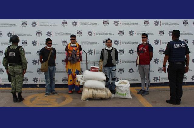 Cuatro sujetos son detenidos por robo de tren de carga en Puebla