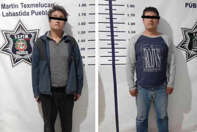 Originarios de Michoacán y Huauchinango, los detenidos tras balacera en Texmelucan