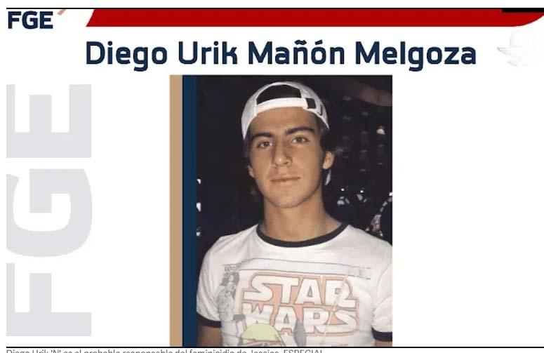 Cae Diego N, presunto homicida de Jessica en Michoacán