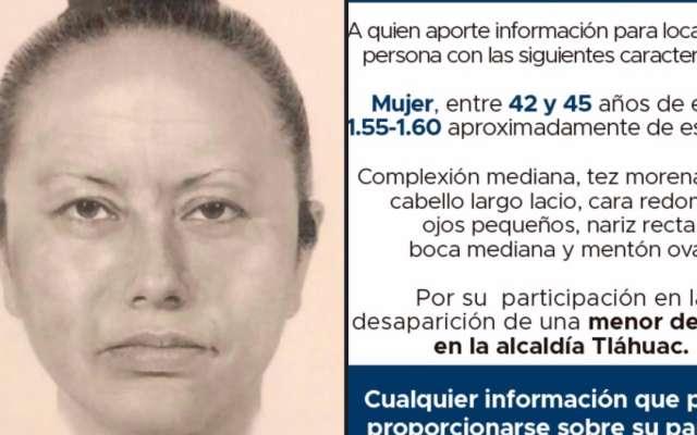 Identifican a mujer que se llevó a Fátima, hallan prendas y sangre
