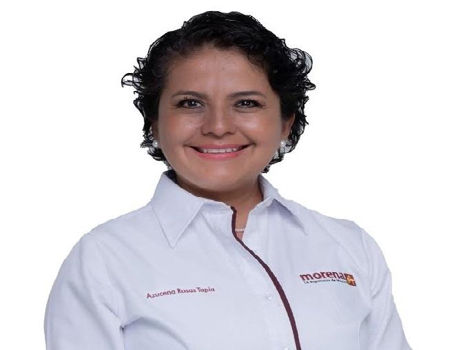 Azucena Rosas de la medicina al Congreso Local por Izúcar