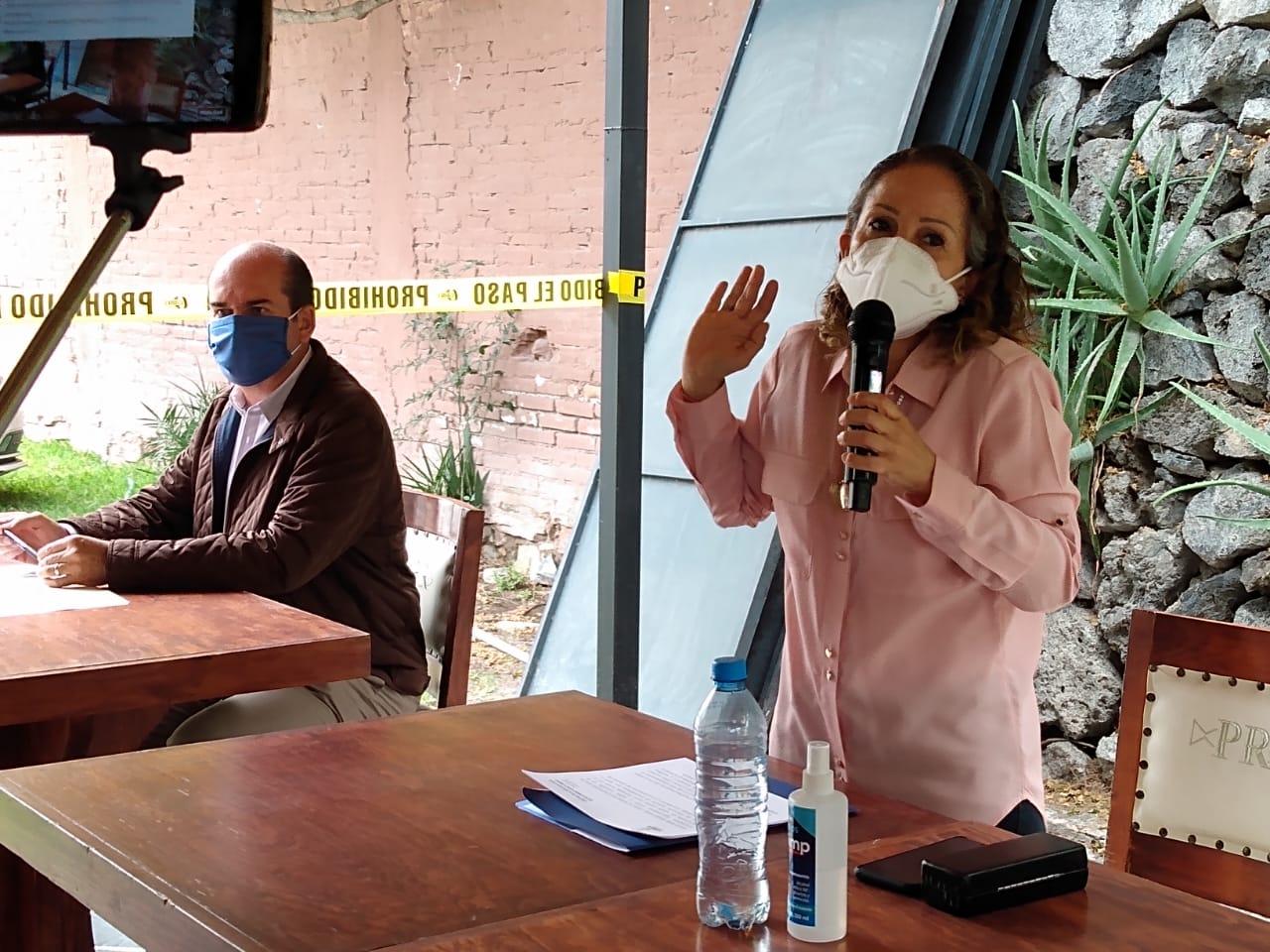 Diputada Garci-Crespo se pronuncia por revocación de mandato para Tehuacán