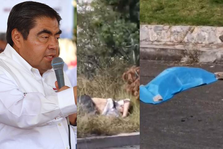 Ejecutados y embolsados son por disputa entre bandas delictivas: Barbosa