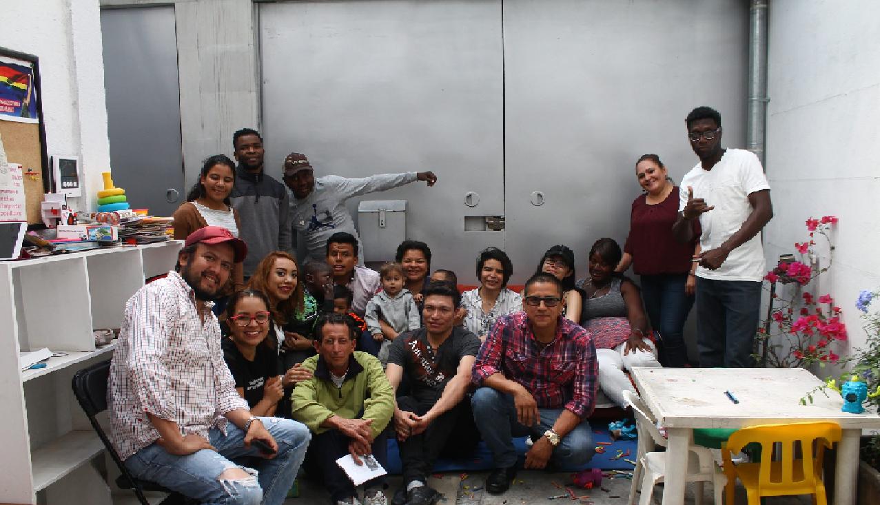 Incubadora de Trabajo para Refugiados y Retornados preocupada por migrantes
