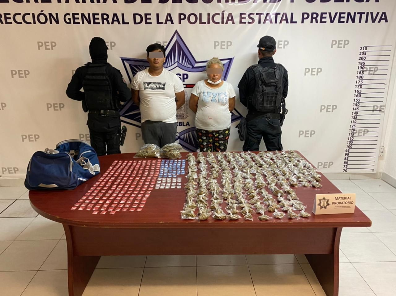 Advierte Barbosa que no permitirá la liberación de La Doña, narcomenudista de Analco