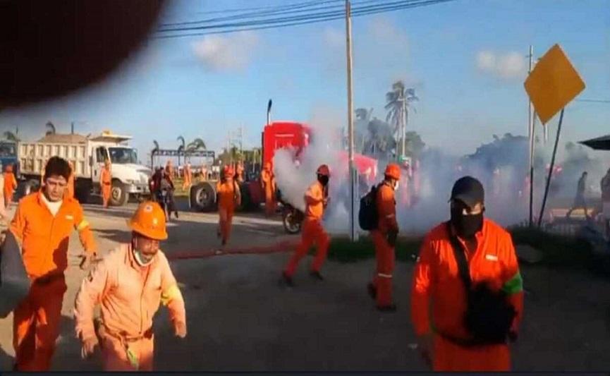 El conflicto en Dos Bocas es sindical, insiste AMLO
