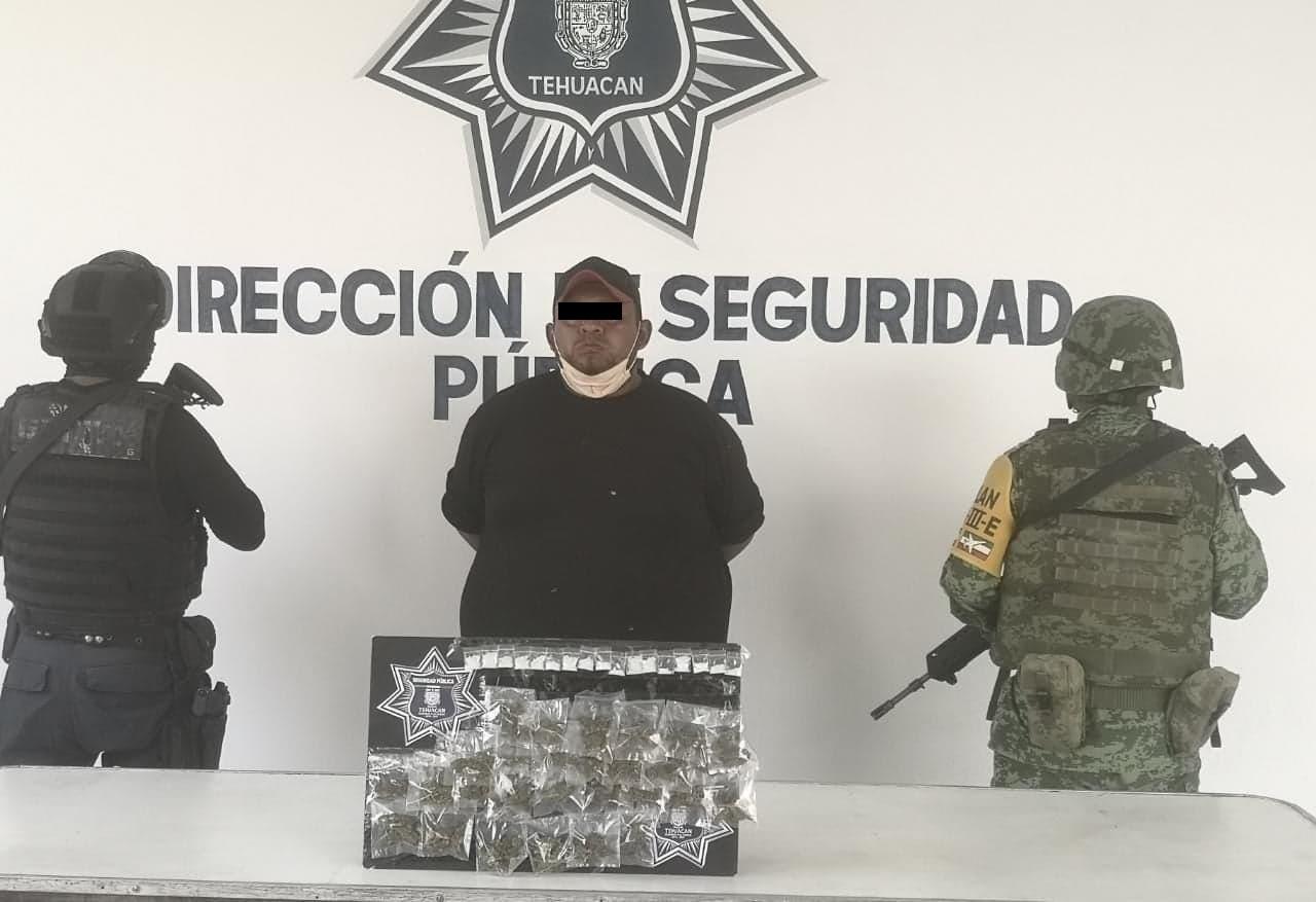 Cae narcomenudista de la banda Del Rueda en Tehuacán