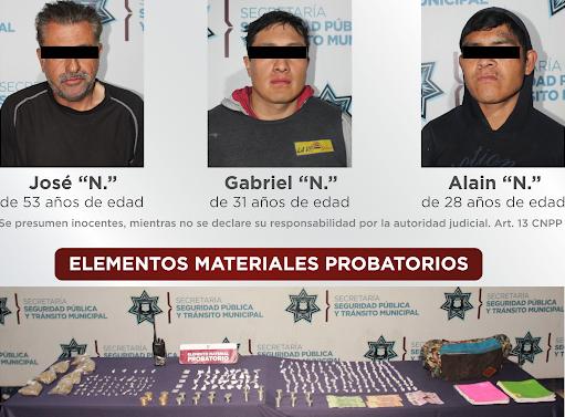 Los agarran con 200 dosis de droga en La Loma