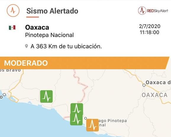 Sismo en Oaxaca logra ser percibido en varios estados; Puebla entre ellos