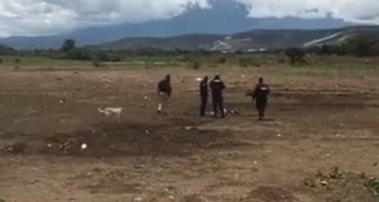 Embolsado y comido por animales hallan cuerpo en Cañada Morelos
