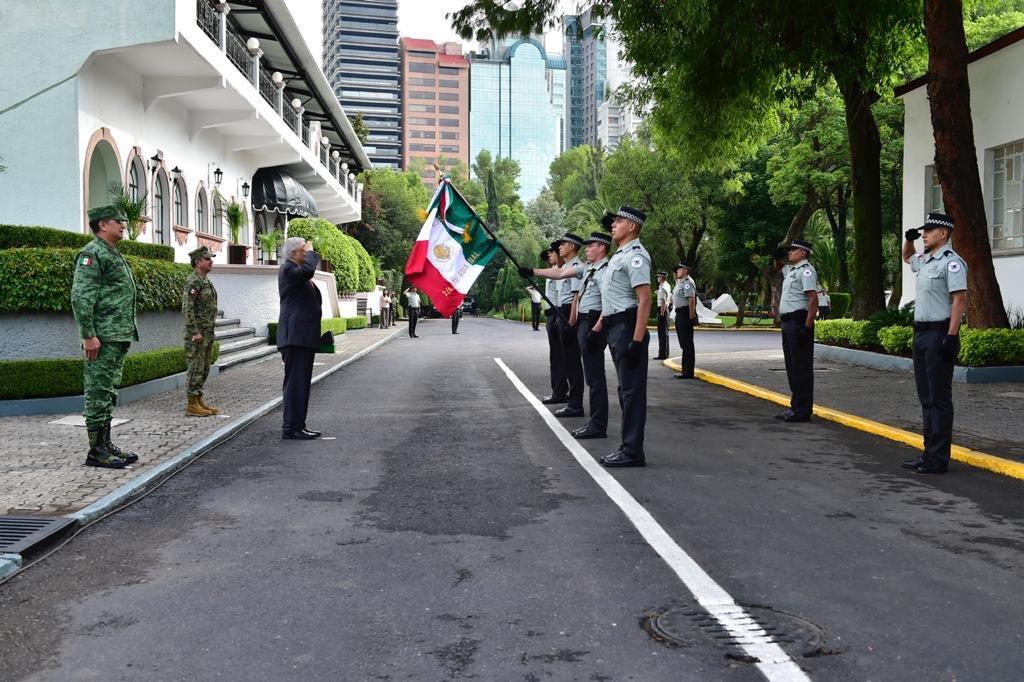 Hoy celebra su primer aniversario la Guardia Nacional