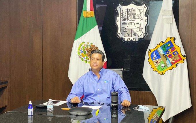 Gobernador de Tamaulipas dio positivo a COVID19