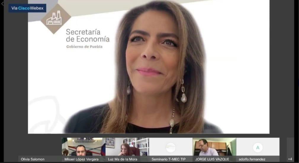 Puebla, con nuevas oportunidades con el T-MEC: Olivia Salomón
