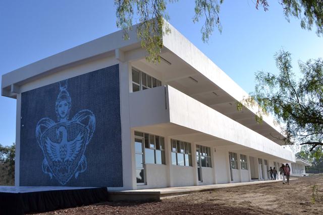Entregan edificio en la nueva sede del Campus Superior Tepeaca BUAP