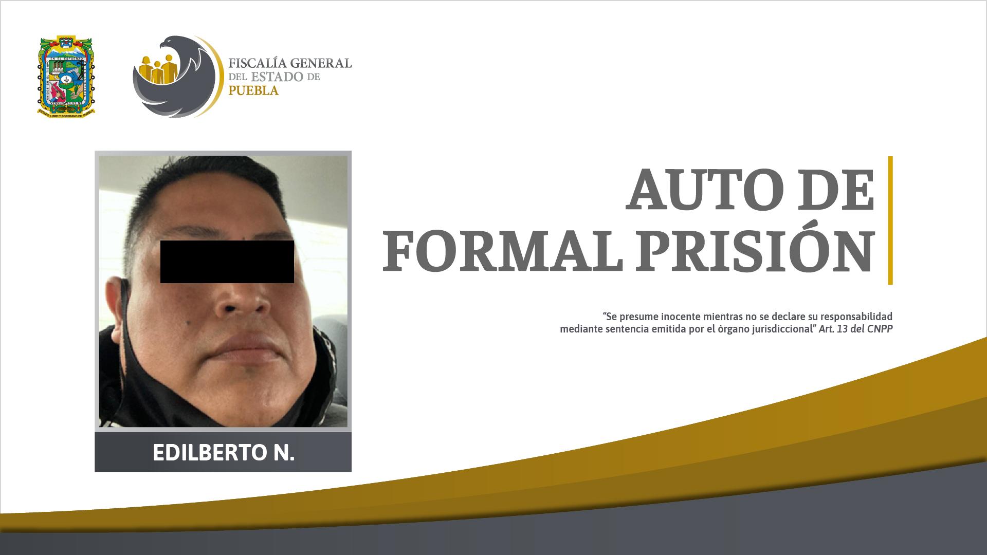 Edilberto se va a prisión por violar a adolescente en Tetela