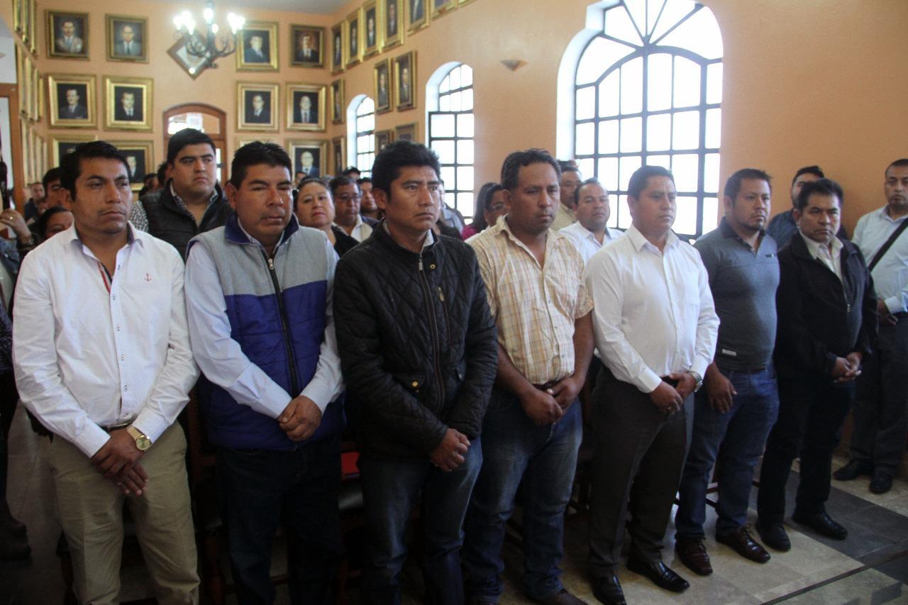 Preocupa a ediles auxiliares inseguridad en Tehuacán