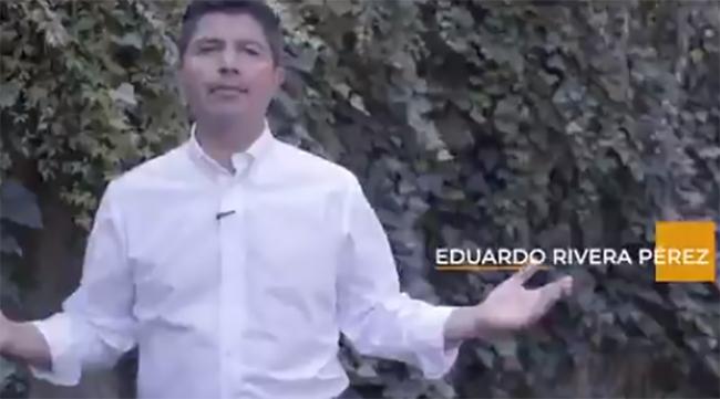 PAN, PRD y PRI van en candidatura común con Eduardo Rivera Pérez