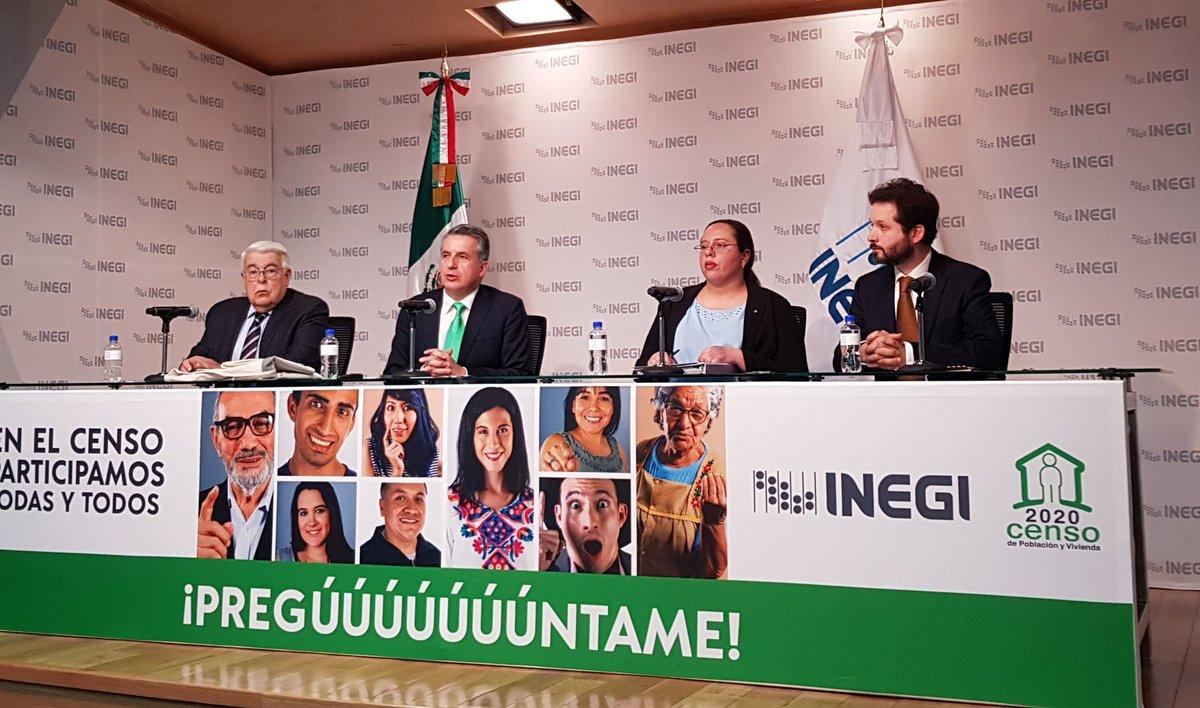 INEGI listo para comenzar el Censo de Población y Vivienda 2020