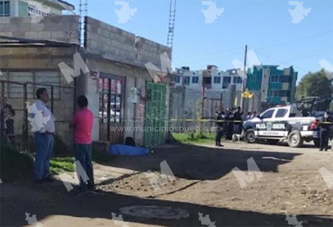 Ejecutan a un hombre y otro más resulta herido en Huejotzingo
