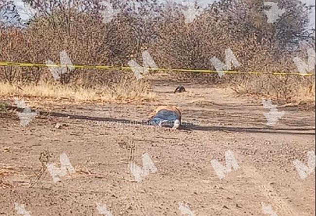 Encuentran a ejecutado en Tlaxcala, en límites con Texmelucan