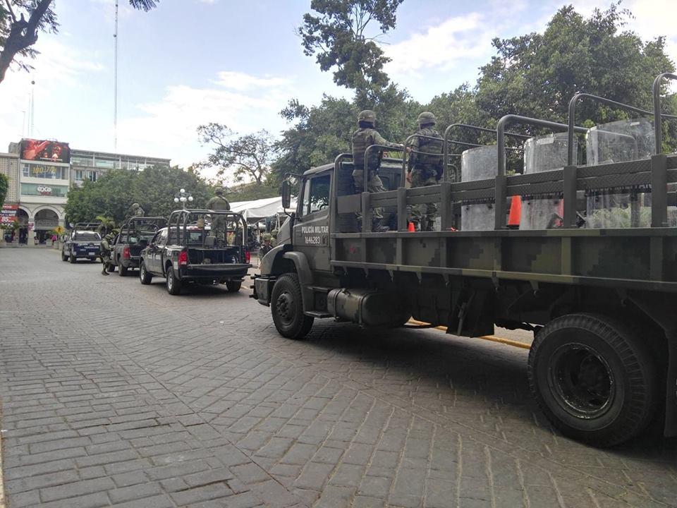 Puntos rojos por inseguridad, Esperanza, Ajalpan y Coxcatlán: Ejército