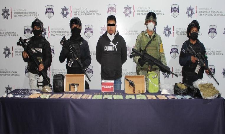 Detienen al narcomenudista  El Checo del Mercado Unión
