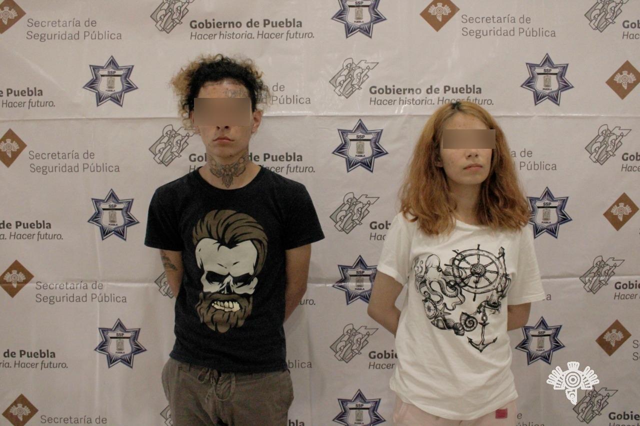 Detienen a El Kalash y su novia Nicole por venta de droga