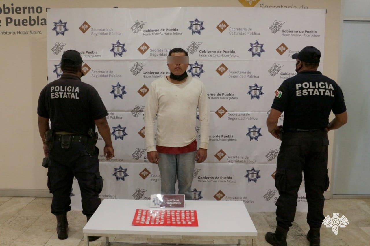 Detienen a El Licenciado vinculado a robo en diferentes modalidades
