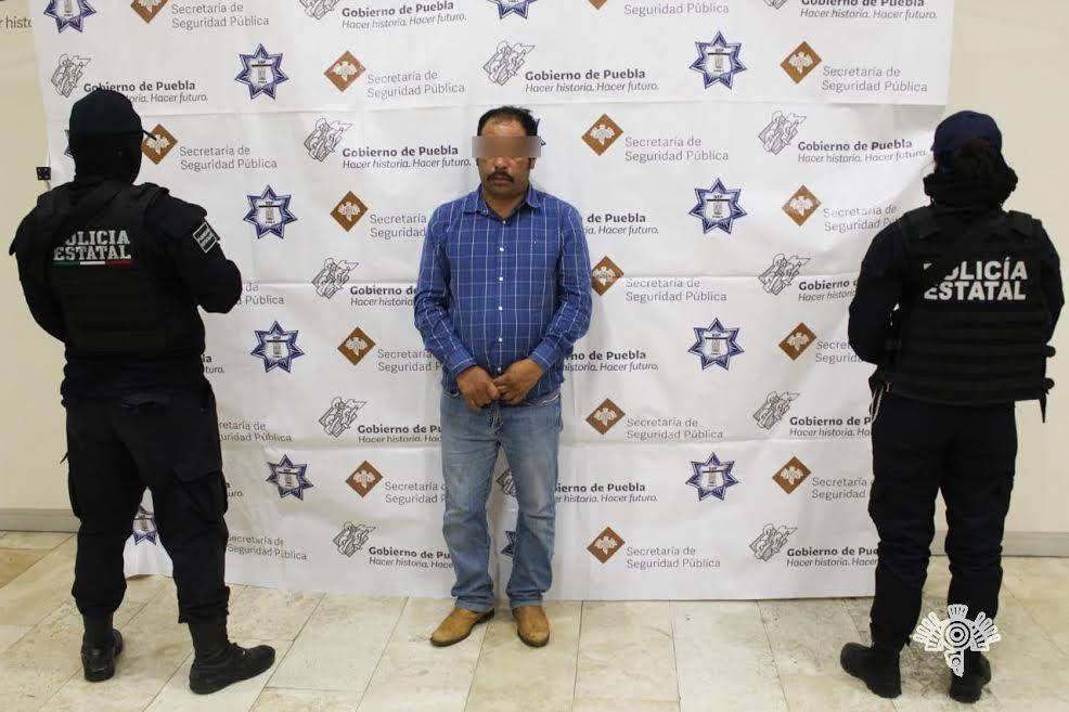 Detienen en Chignahuapan a El Moco, líder huachicolero de la Sierra Norte