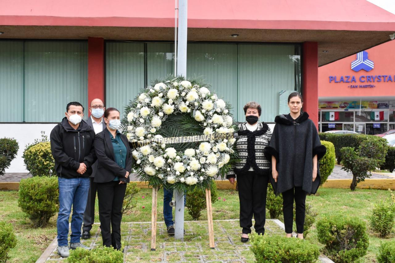 El gobierno de Texmelucan conmemora el 19 de septiembre