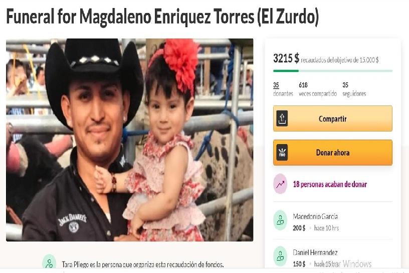Organizan fraude con muerte de El Zurdo de Matamoros