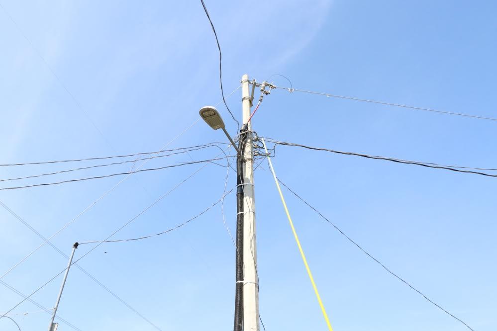 Entregan ampliación de electrificación en Santa Lucía Cosamaloapan