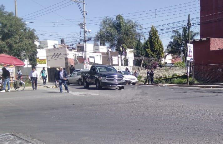 Hallan embolsado atrás de Plaza San Diego, en Cholula