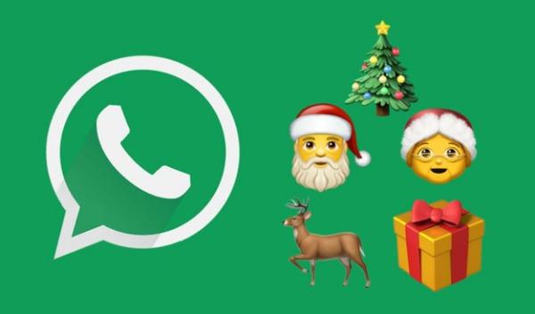 WhatsApp incluye nuevos emojis de Navidad